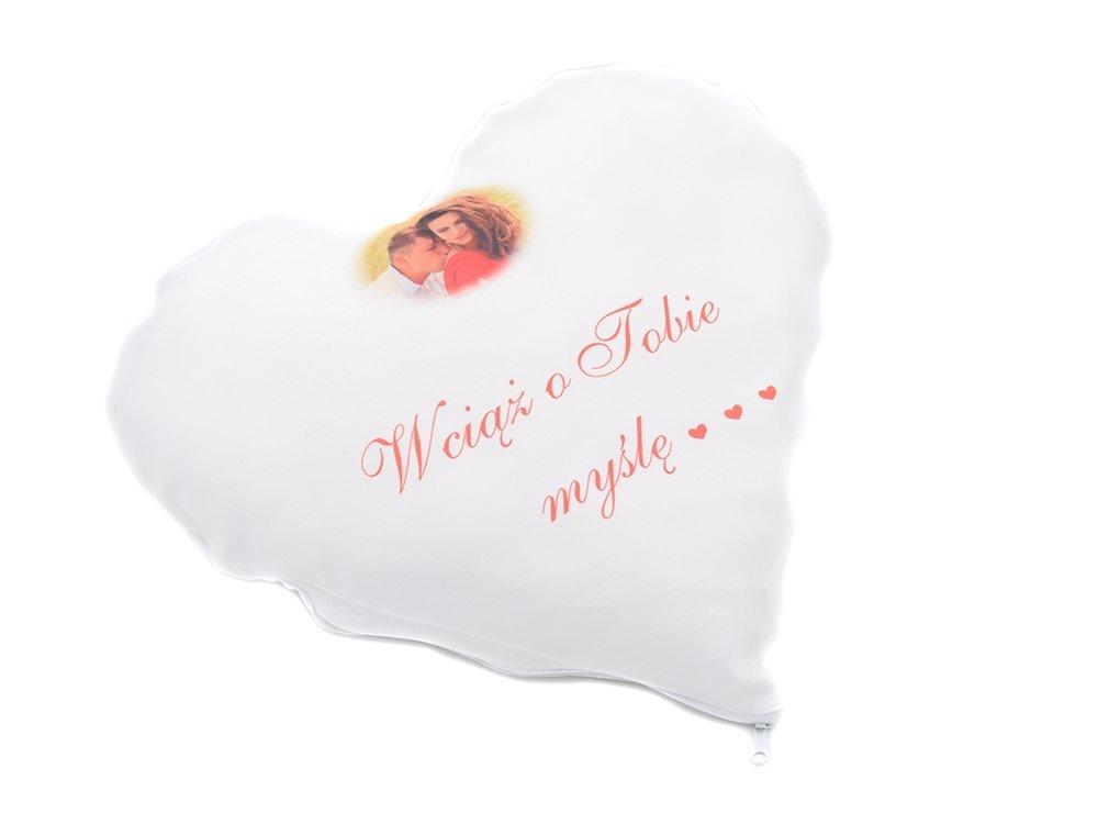 Foto Poduszka Serce Twój Nadruk Prezent Walentynki Dla Dziewczynki